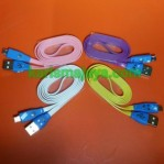 Kabel Data Micro USB Smile LED