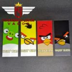 Wrap Battery 18650 Angry Bird