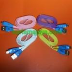 Kabel Data Micro USB Smile LED