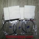 RSVP wick & wire premium organic cotton