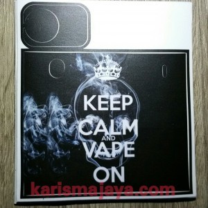 Stiker Skin Keep Calm Vape On