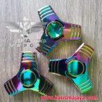 Fidget Spinner Triangle Brass