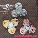 Fidget Spinner Triangle Chrom