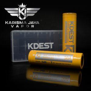 KDEST Battery 18650 2400mah 50A