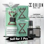 Orion Dna Go Cartridge Refillable Pod