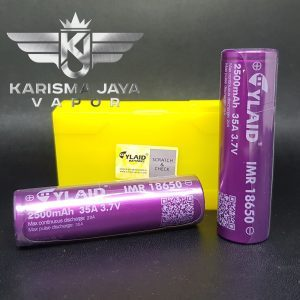 YLAID 2500mAh 35A 18650 Battery