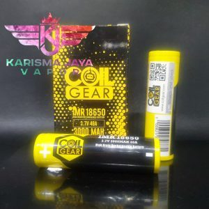 Coil Gear 18650 3000mAh 40A Battery